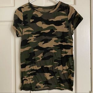 Jcrew Factory camo T-shirt